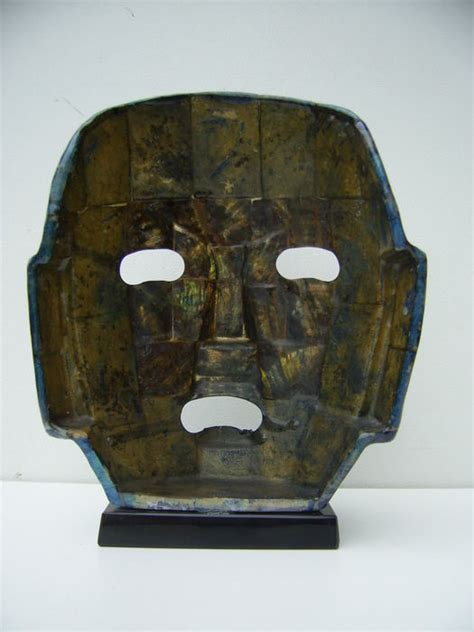 Masker 3 Lapis mexican mask lapis lazuli after the mayan civilization catawiki
