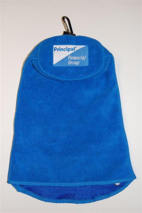 spotless swing golf towel principal charity classic chooses custom logoed spotless