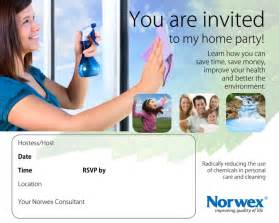 invitations for learning more about norwex norwex microfiber and personal care products