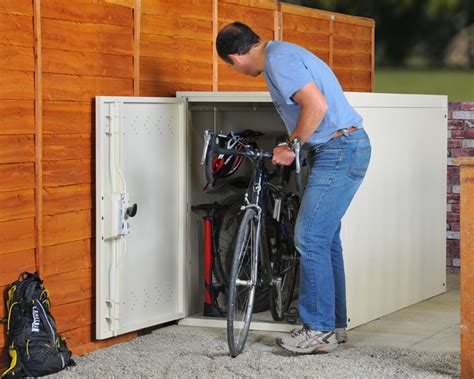 Outdoor Bike Storage Shed by Bicycle Storage Solutions With Outdoor Bike Storage