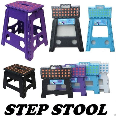 Where To Buy A Step Stool by Plastic Step Stool Folding Foldable Multi Purpose Small