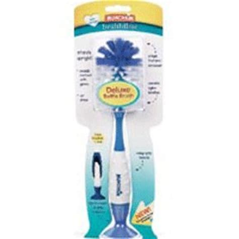 Dijamin Munchkin Deluxe Bottle Brush bottle brush deluxe munchkin size 1 baby bottle cleaning brushes baby