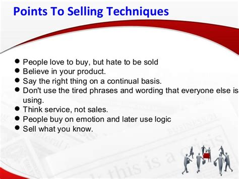 sales techniques real estate sales techniques