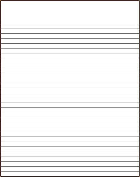 Lined Paper Template Free Lined Paper Template Lined Paper Template No Border Noshot Info A4 Lined Paper Template Word