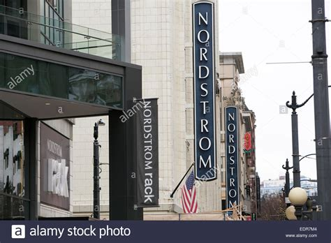 Nordstroms Rack Seattle by A Nordstrom And Nordstrom Rack Clothing Retail Store In Downtown Stock Photo Royalty Free Image