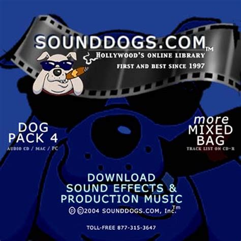 sound dogs sounddogs pack 4 more mixed bag