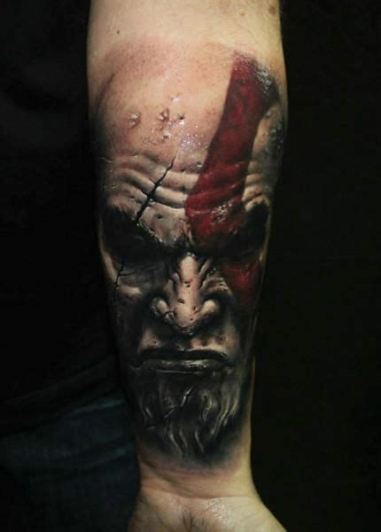 tattoo 3d barcelona best kratos tattoo ever tat tat tatted up pinterest