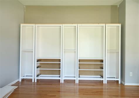 ikea built in cabinets ikea hemnes bookcase glass doors roselawnlutheran
