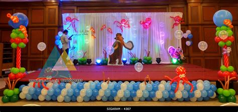 themed birthday party supplies bangalore themed birthday party decoration at hotel shenbaga