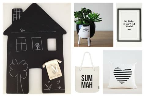 indie home decor fun black and white home decor and it all ships free