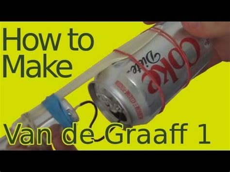 how to make build a de graaff generator part 1