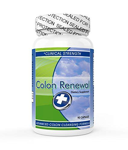 Colon Cleanse Detox And Revitalize by Colon Renewal Finally A Safe And Affordable