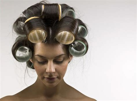 use large rollers when give a permanet wave on long hair how to make curly hair wavy quickly and easily