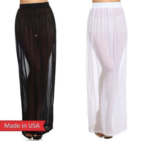 new trendy fashion fitted sheer mesh see