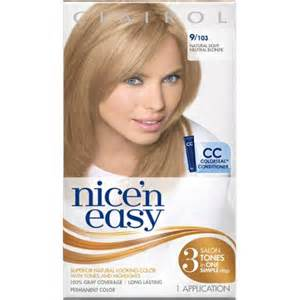 and easy hair colors clairol n easy permanent hair color