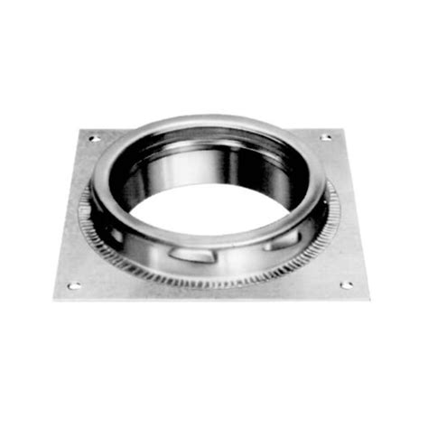 Chimney Outlet Pipe Price - metalbest ultra temp 6 inch diameter chimney pipe anchor plate