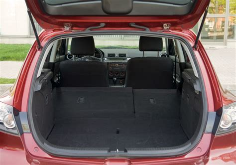 mazda 3 hatchback trunk space 2004 2009 mazda 3 expert review