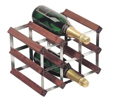 Bottle Rack Ta 9 bottle traditional wooden wine rack 3x2