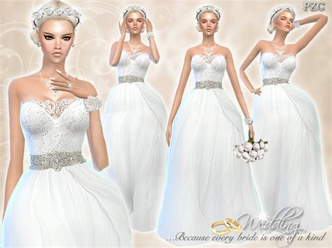 Wedding Dress The Sims 4 by Wedding 187 Sims 4 Updates 187 Best Ts4 Cc Downloads 187 Page 3 Of 9