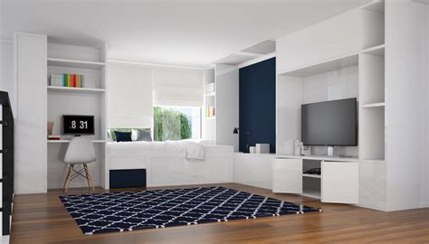 amazing 3d Interior Design Software #2: Living-Room-With-Custom-Made-Cabinets-Interior-Design-3D-Rendering-Service.jpg