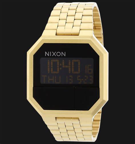 Jam Tangan Pria Wanita Nixon Rerun Rosegold nixon a158502 re run all gold jamtangan