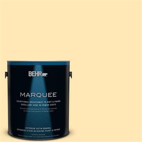behr paint color vanilla behr marquee 1 gal p260 3 vanilla satin enamel