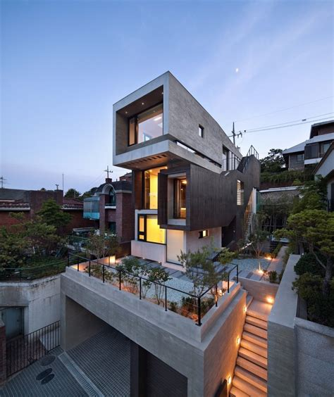korean home design sles h house south korean residence e architect