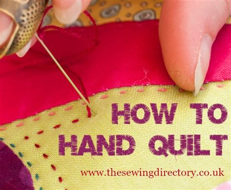 tutorial quilting hand hand quilting guide by sarah fielke quilting pinterest