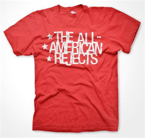 design t shirt american apparel fire eater industries the all american rejects stars t