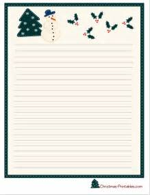 Is another cute stationery paper with image of a snowman a christmas
