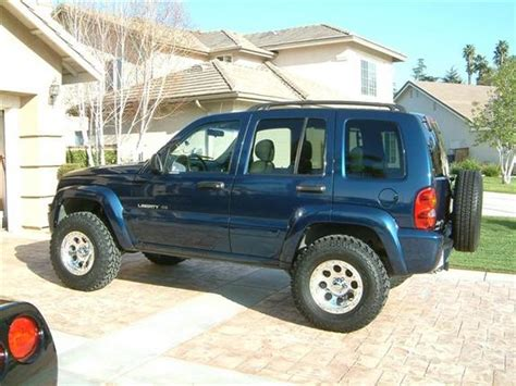 2002 Jeep Tire Size What Size Tires Are On A 2002 Jeep Liberty