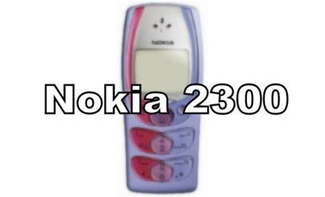 Keypad Nokia 2300 the mobile nostalgia can you guess the names of these