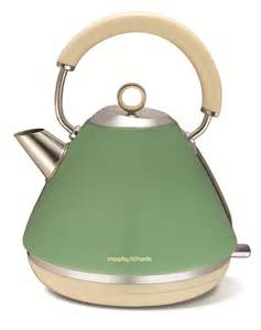 Morphy Richards Green Kettle And Toaster Accents Traditional Kettle Sage Green Electric Kettles