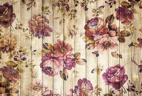 classic romantic wallpaper free illustration on wood wooden wall vintage free