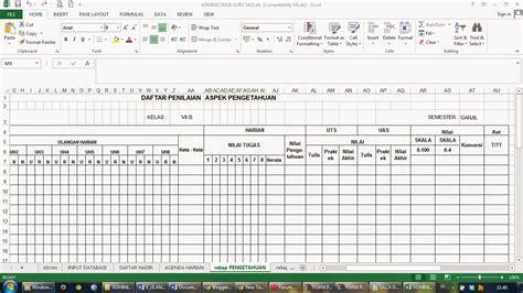format evaluasi diri guru smk format penilaian kurikulum 2013 administrasi guru
