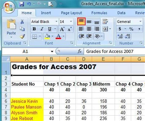 excel tutorial home and learn microsoft excel 2007 home tab learn tools to use ms