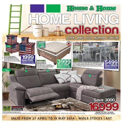 house home furniture catalogue rsa validity 27th april