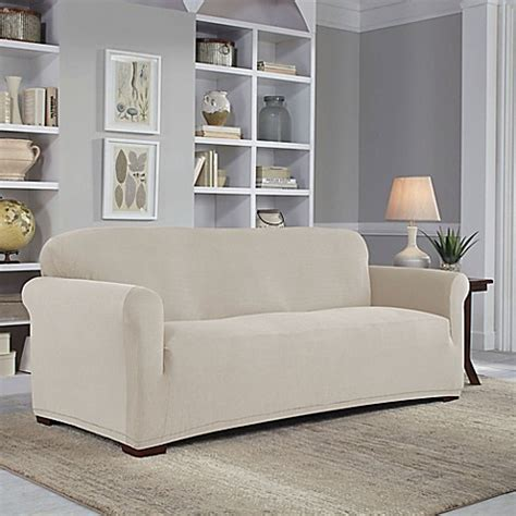 perfect fit sofa covers perfect fit 174 easy fit sofa slipcover bed bath beyond