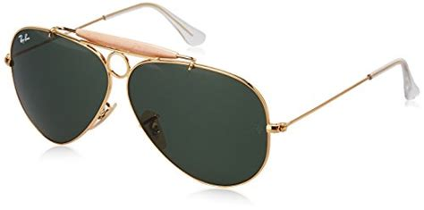 Frame Rb 3028 Ys authentic ban large metal polarized aviator sunglasses matte gold 58 mm free shipping