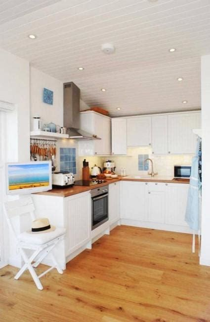 summer interior summer house design with wooden terrace and nautical decor