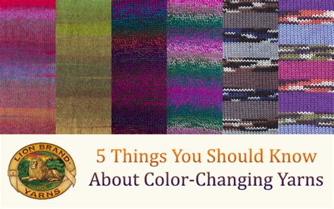 a few things you should know about colors before painting 5 things you should know about color changing yarns lion