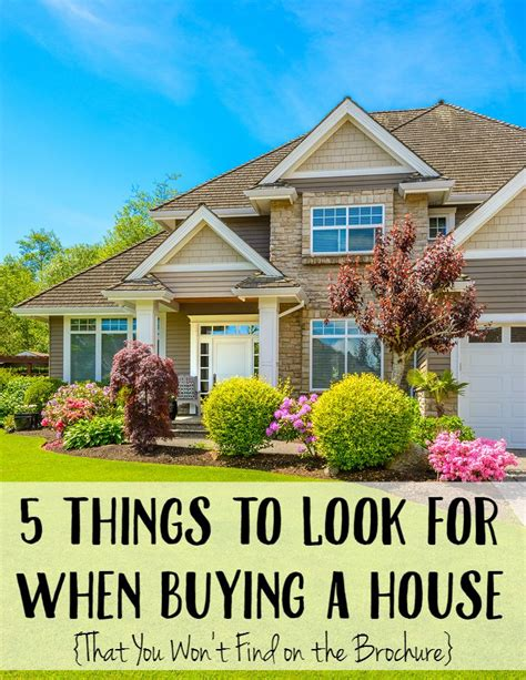 5 Things To Look For When Buying A House Not Quite