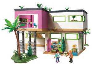 haus playmobil playmobil modern luxury mansion play set toys