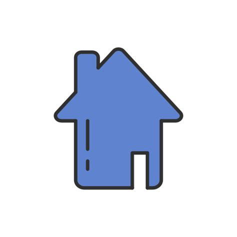 Haus Icon by Haus Heim Symbol Kostenlos Ui Colored
