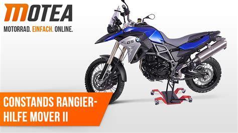 Motorrad Rangierhilfe Youtube by Motorrad Rangierhilfe Constands Mover Ii Universal Rot