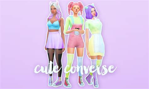 sims 4 baby custom content cute converse sims 4 custom content