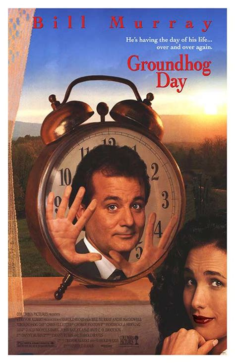 groundhog day clock groundhog day posters at poster warehouse
