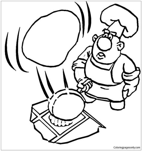 pancake coloring pages cooking a pancake coloring page free coloring pages