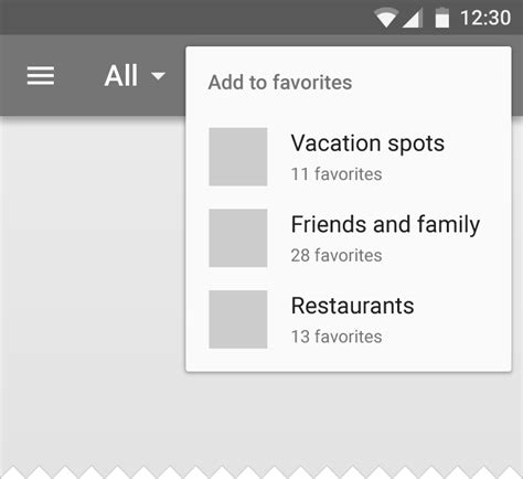 menu layout android exle how to realize this custom popup menu with material design