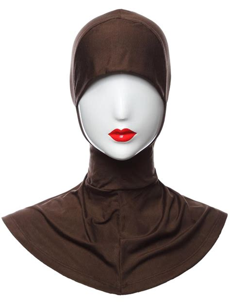 Yika Islamic Muslim Cover Inner Caps Split Longundersc aliexpress buy muslim islamic turban wear band neck chest cover bonnet muslim